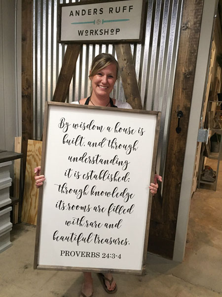proverbs 24 oversized wood sign wisdom
