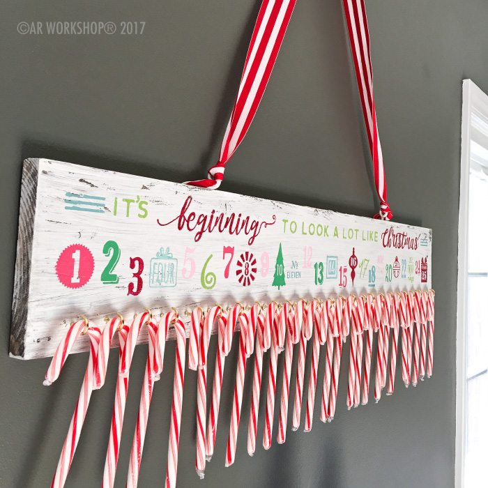 Countdown To Christmas Sign.Christmas Designs Ar Workshop Gallery