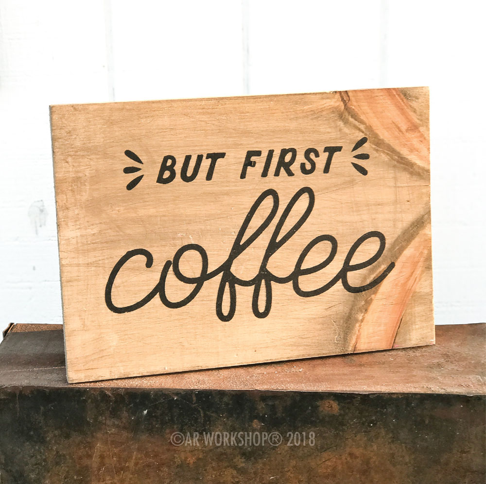 But First Coffee 12x16