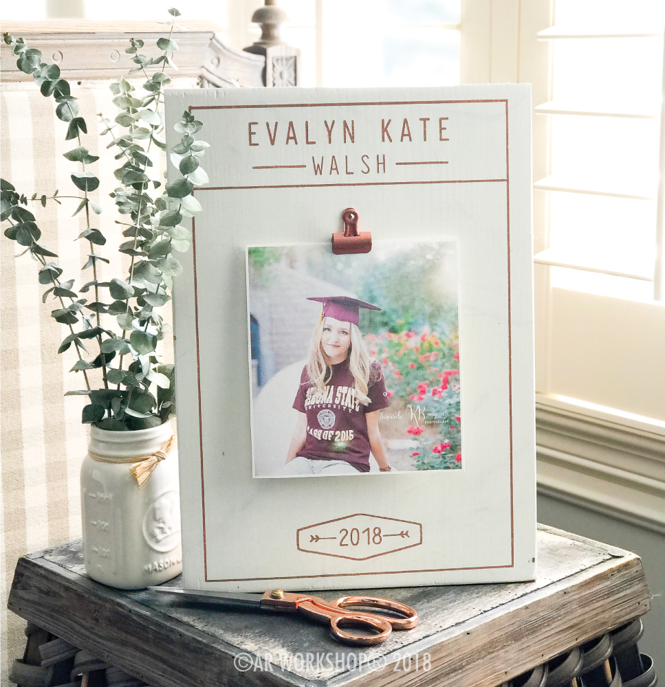 graduation photo frame gift