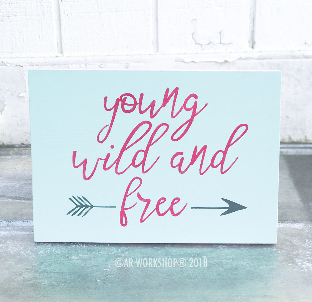 Young Wild and Free 12x16