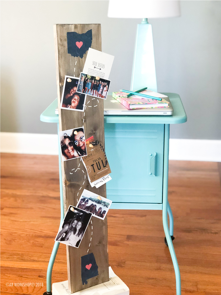 long distance memory photo board 6x32