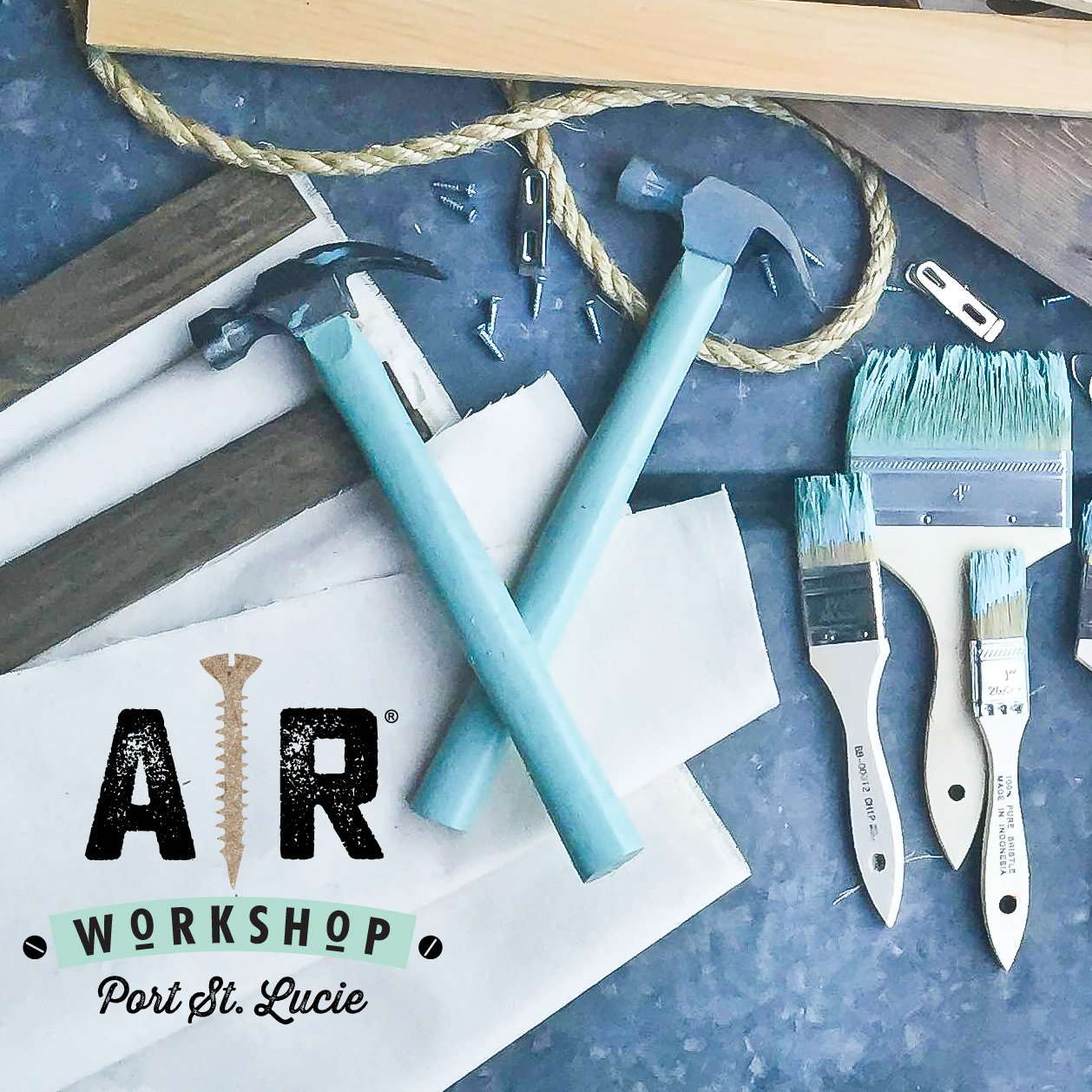 AR Workshop Port St  Lucie - Wine and Painting Wood Sign