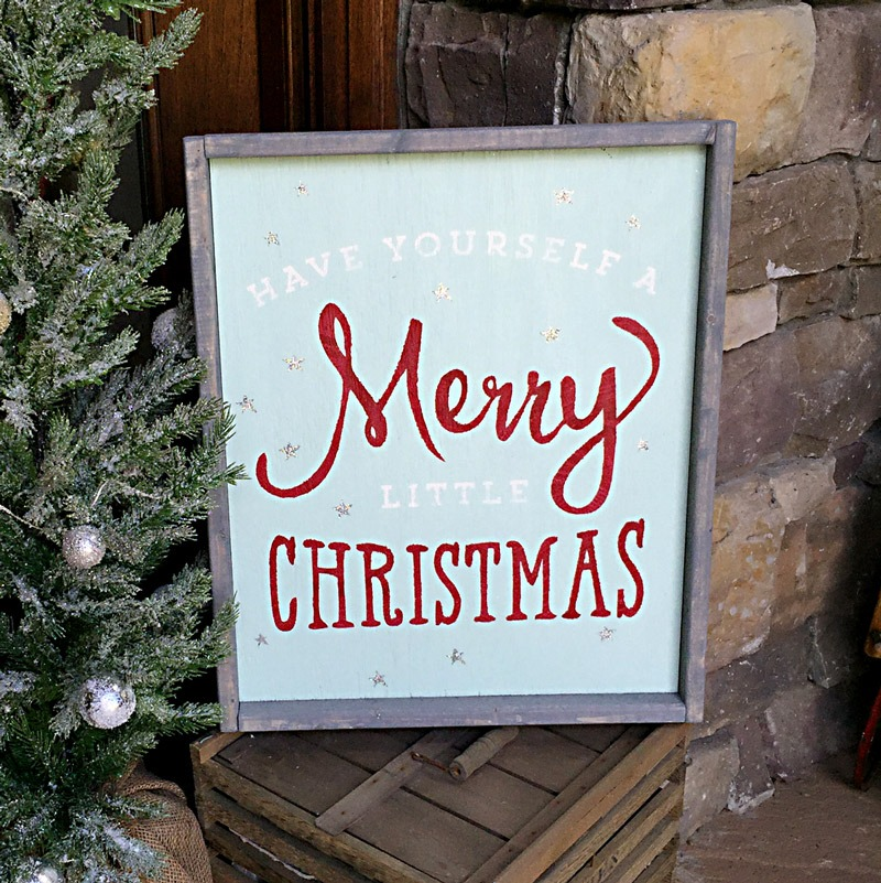 merry christmas wood sign ar workshop