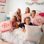 monogram pillows ar workshop