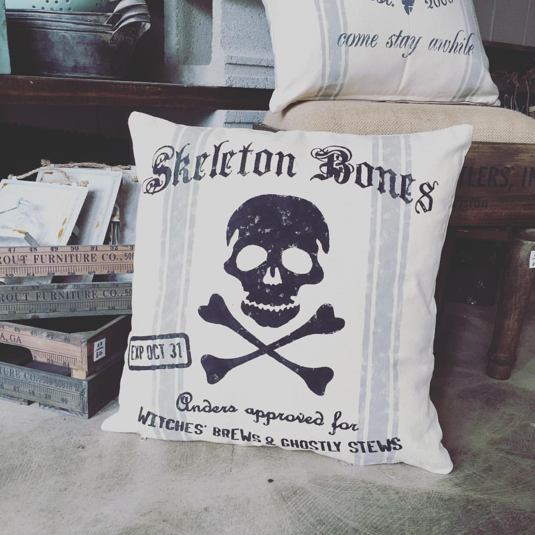 skeleton pillow diy ar workshop