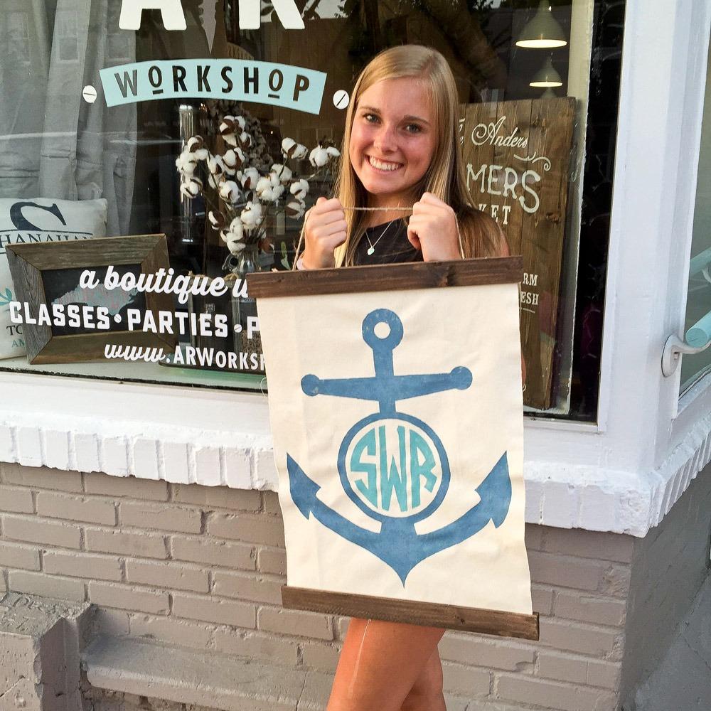 anchor-monogram-sign