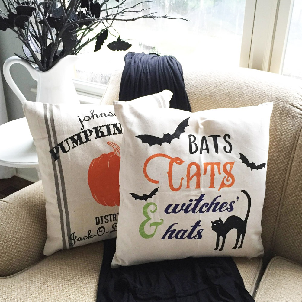 halloween pillows ar workshop