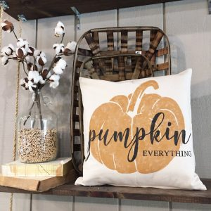 fall pumpkin pillow diy ar workshop