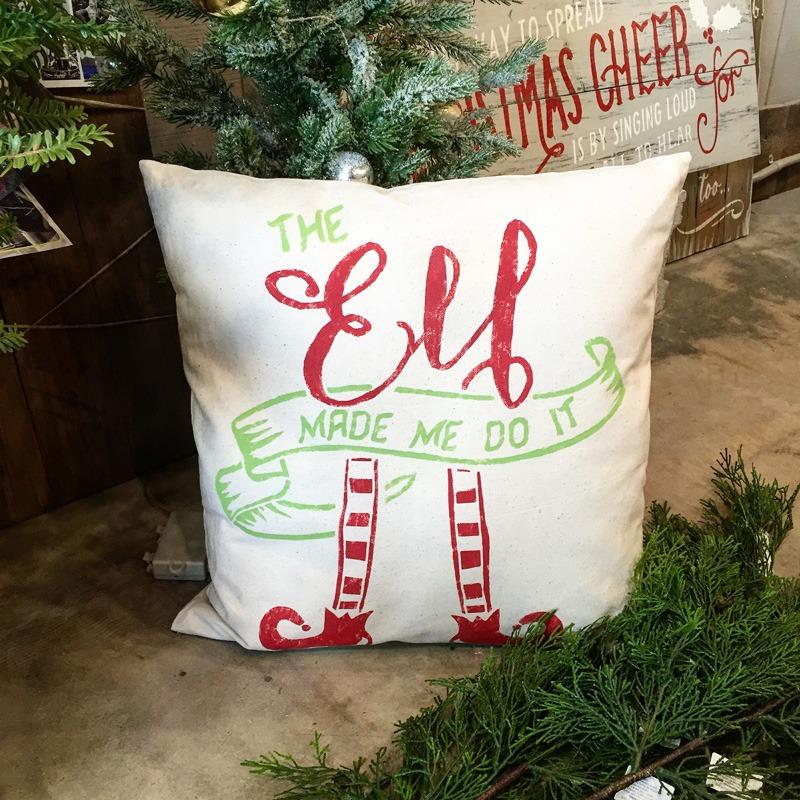 elf pillow ar workshop