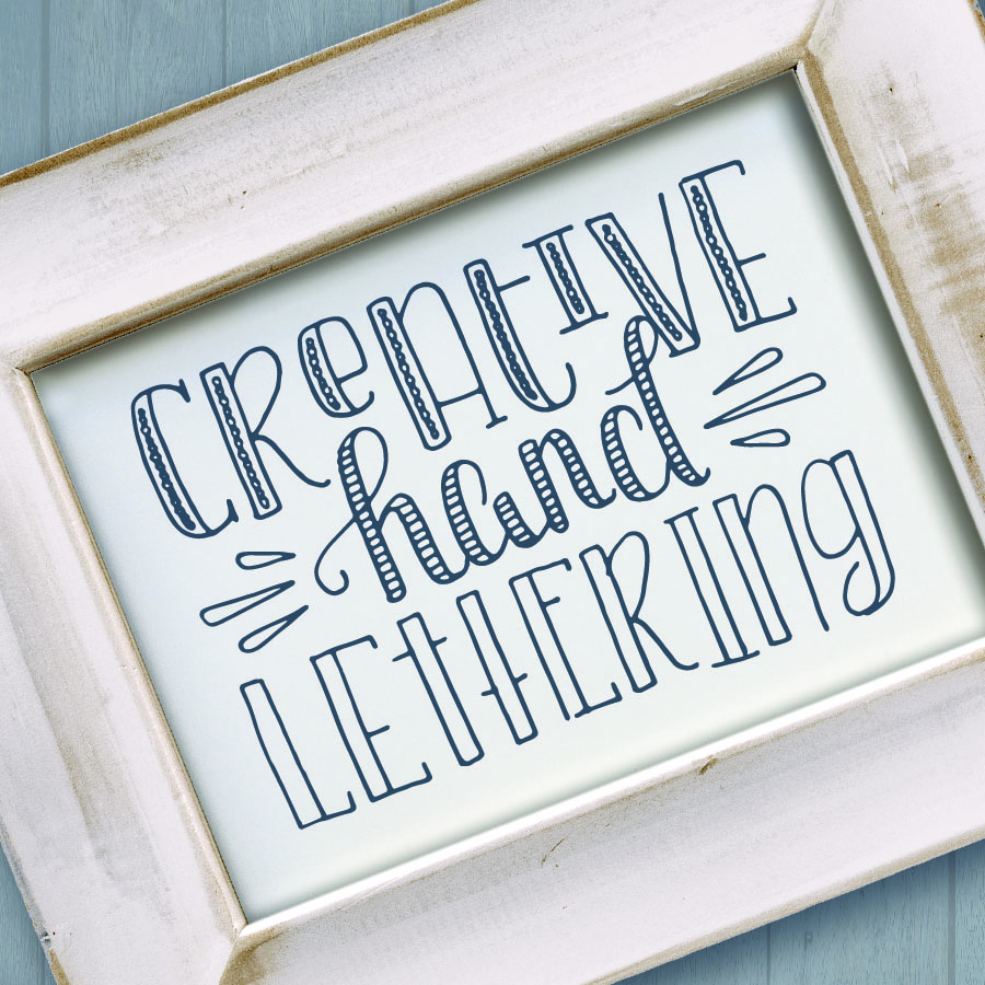 Creative Hand Lettering Workshop With Lighthouse Paper