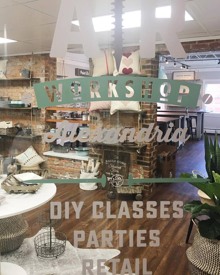 ar workshop alexandria diy wood sign class