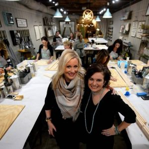 DIY Wood Painting Classes AR Workshop featured in The Charlotte Observer