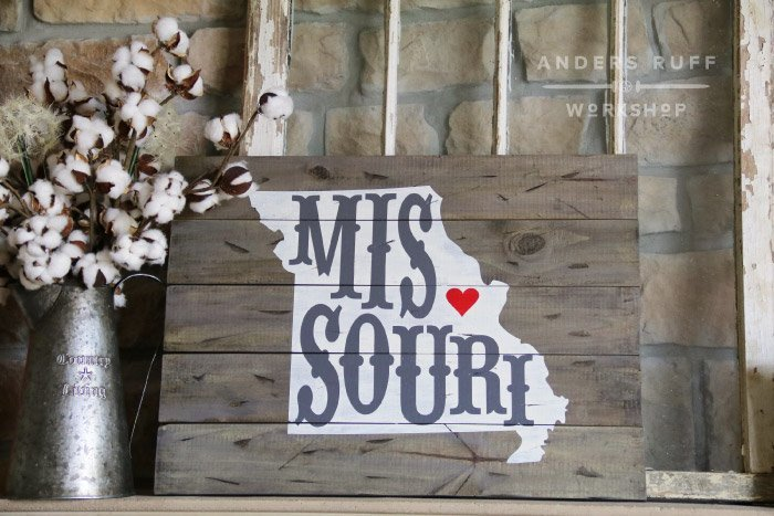 diy missouri wood sign class ar workshop