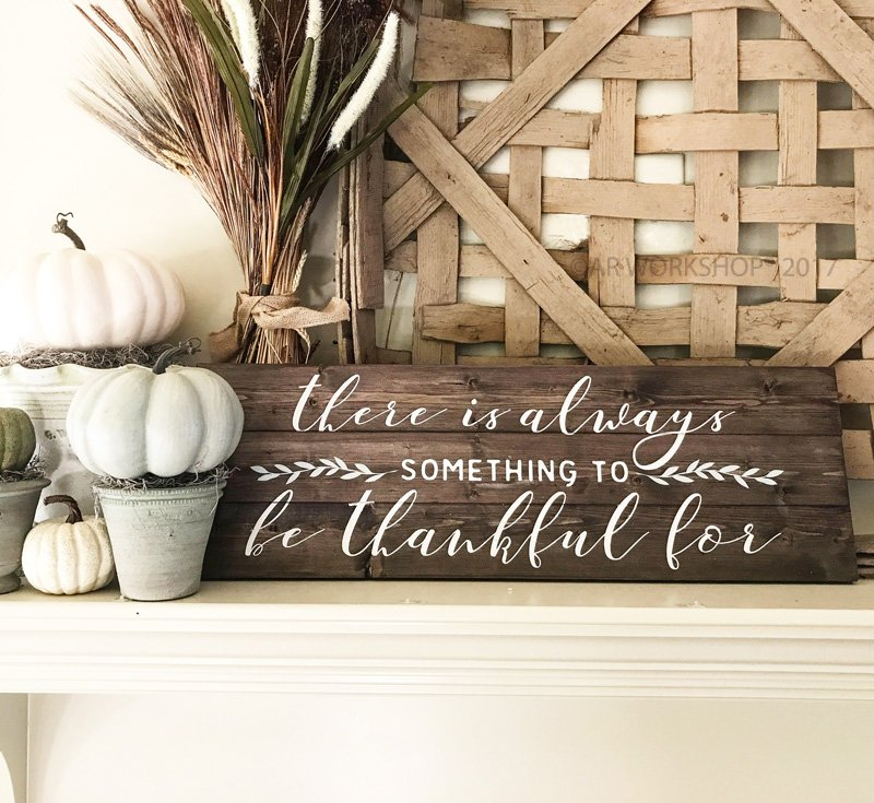 thankful fall wood sign diy ar workshop