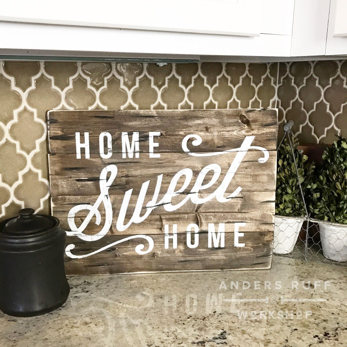 home sweet home wood sign diy wood sign class
