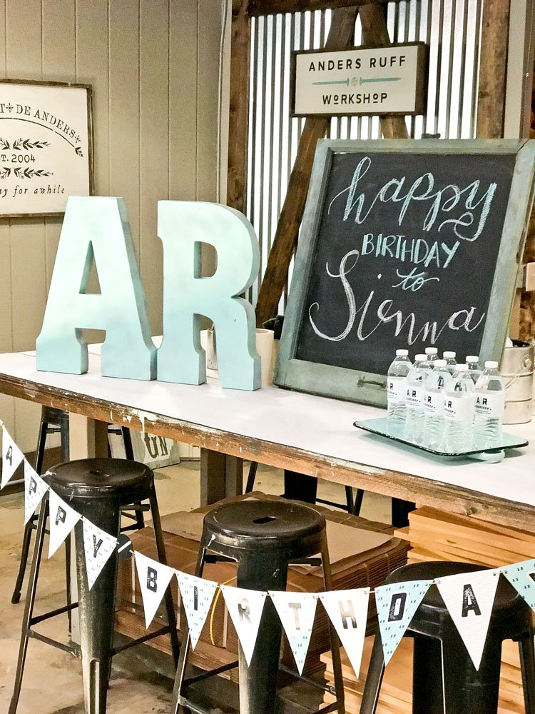 Diy Wood Sign Birthday Party