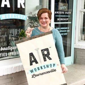 ar workshop lawrenceville georgia diy wood sign