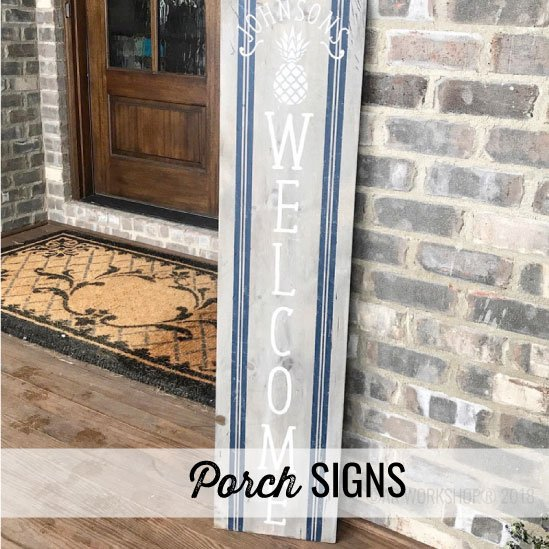 porch signs projects