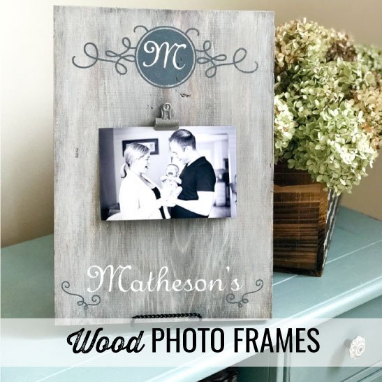 projects types wood photo frames