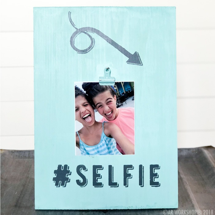 selfie youth wood photo frame