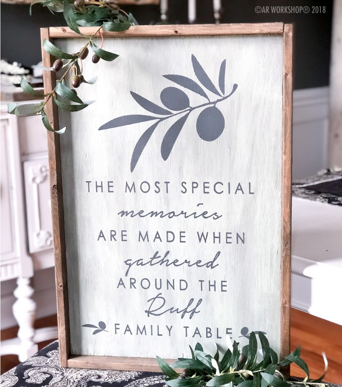 the most special memories are made framed wood sign 18x26