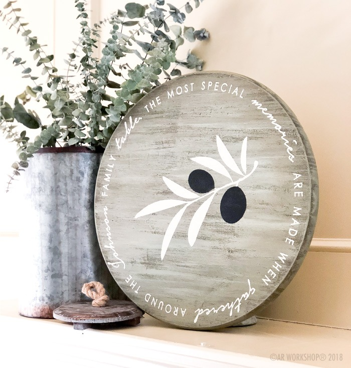 the most special memories are made round lazy susan