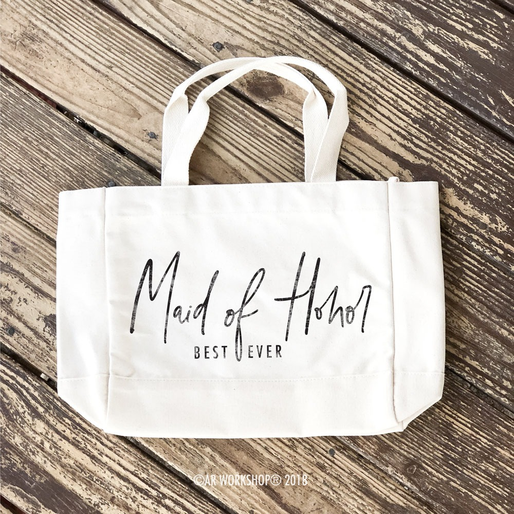 Maid of Honor Best Ever Tote Bag
