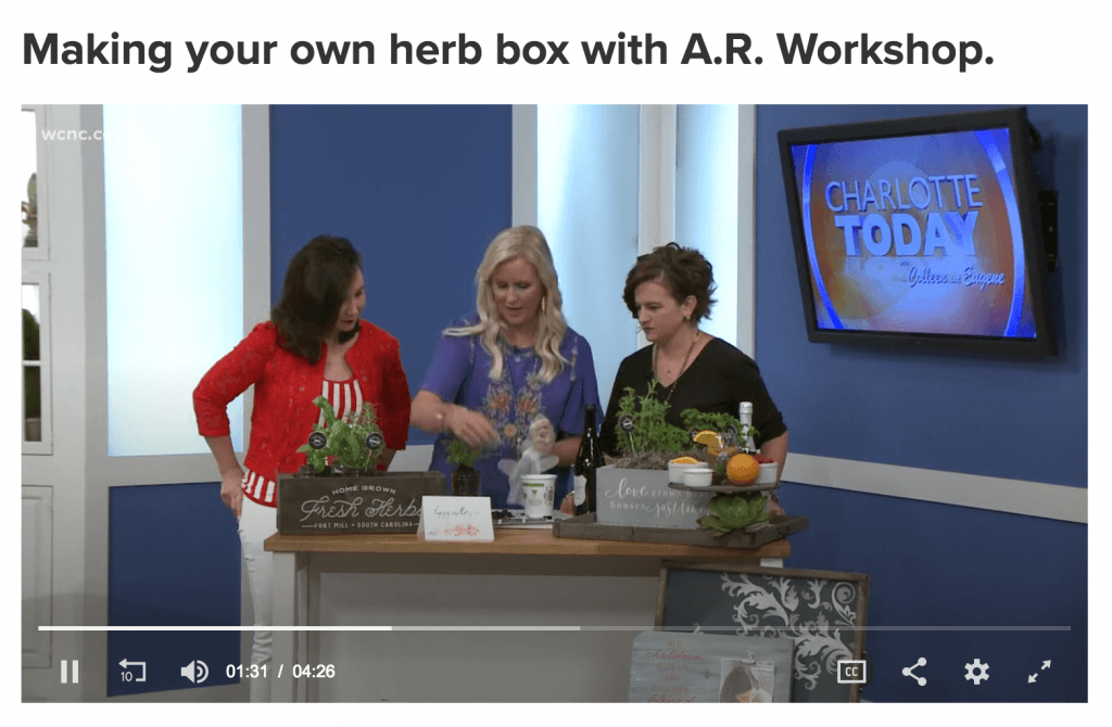 diy herb garden planter box ar workshop