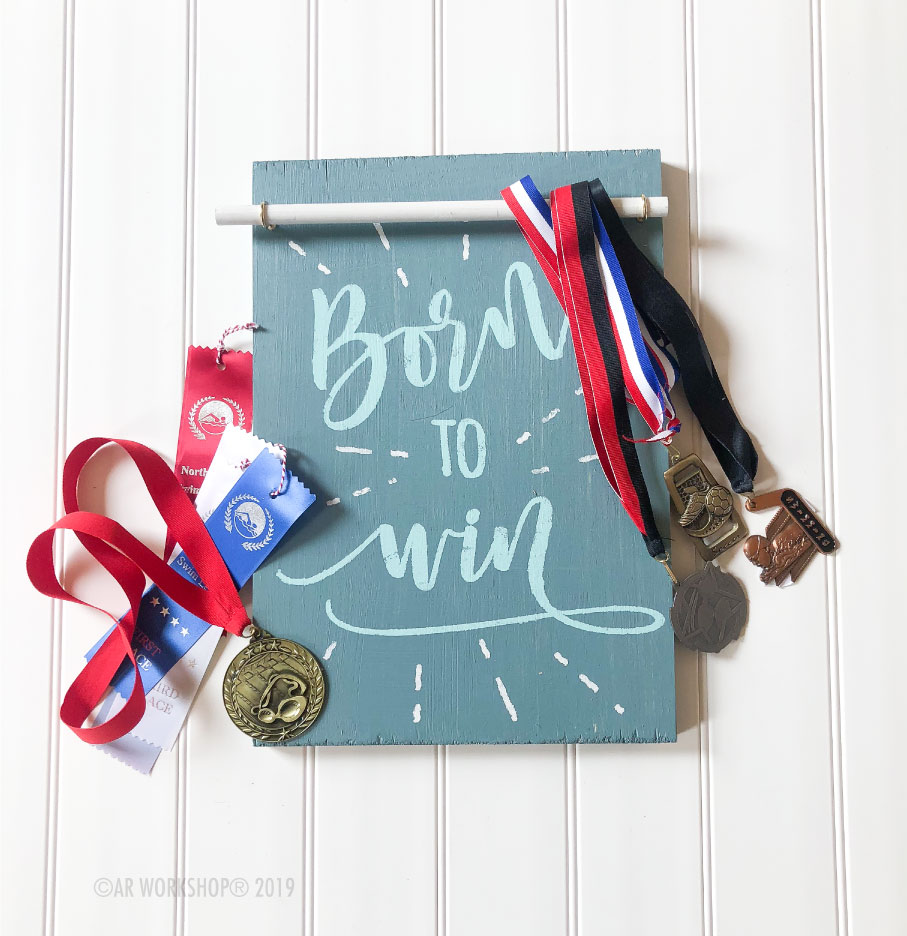 born to win accessory board