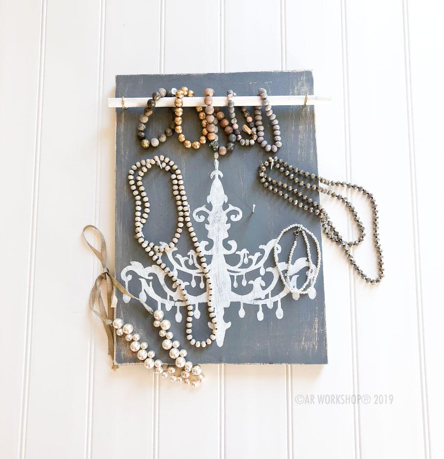 chandelier accessory board