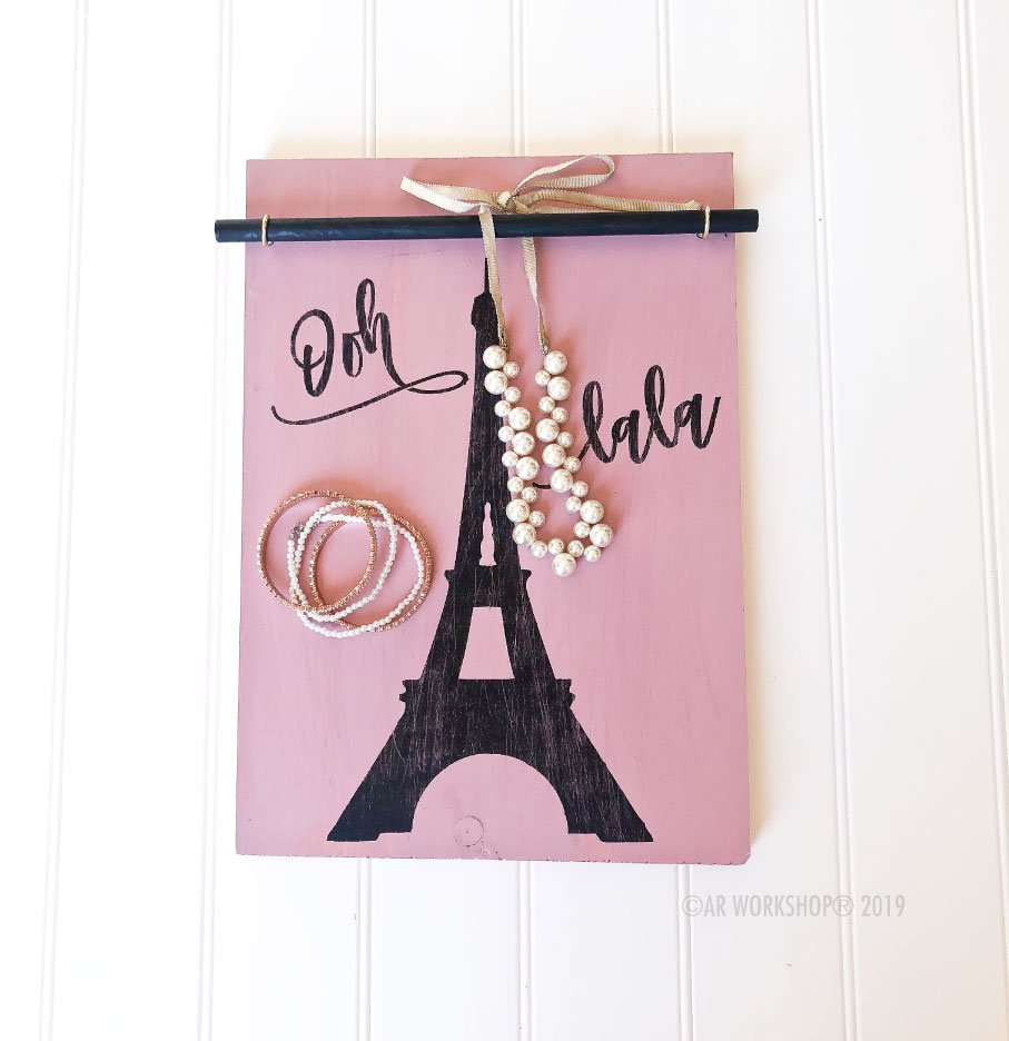 eiffel tower accessory board