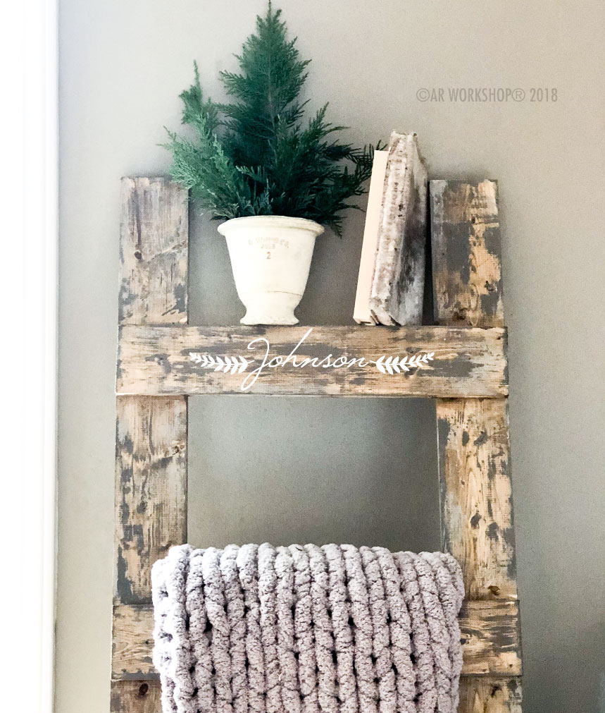 laurel branch name blanket ladder