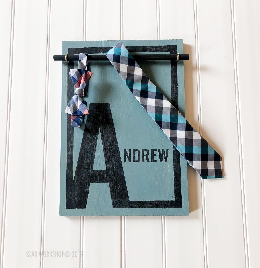 modern name accessory board