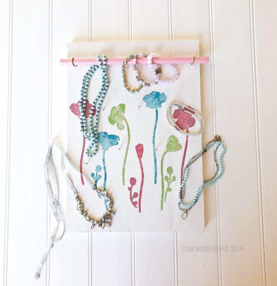 wild flowers accessory board