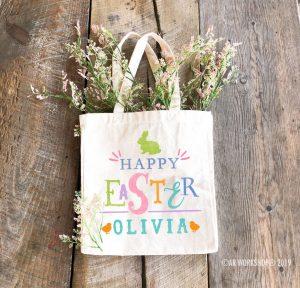 Easter Fancy Easter Tote Bag