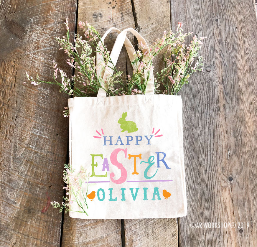 Easter Fancy Easter Tote Bag