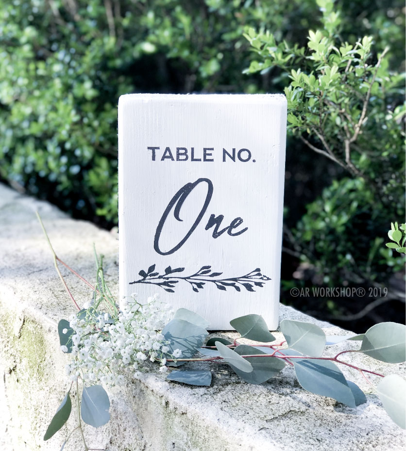 eucalyptus branch table numbers