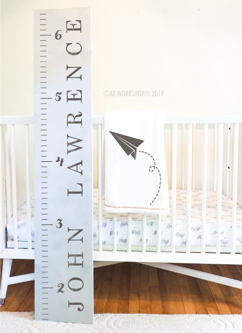 traditional growth chart 12x60 baby