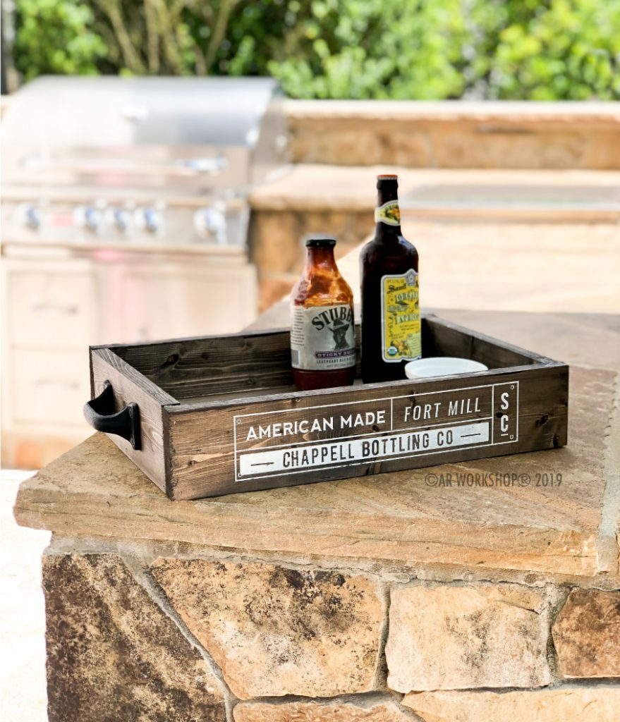 bottling company box tray 12x17