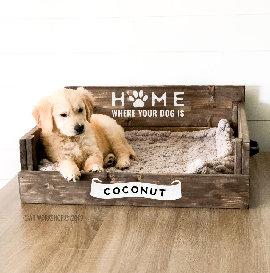 home where your dog is pet bed