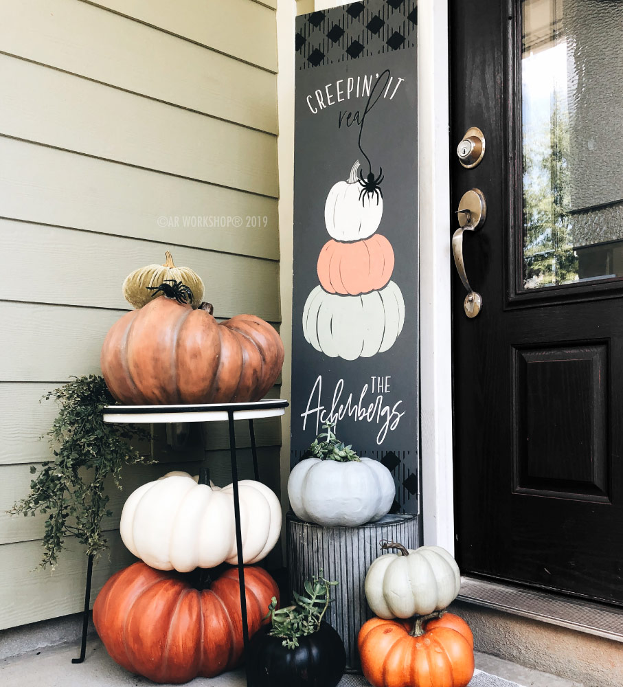 funny halloween signs