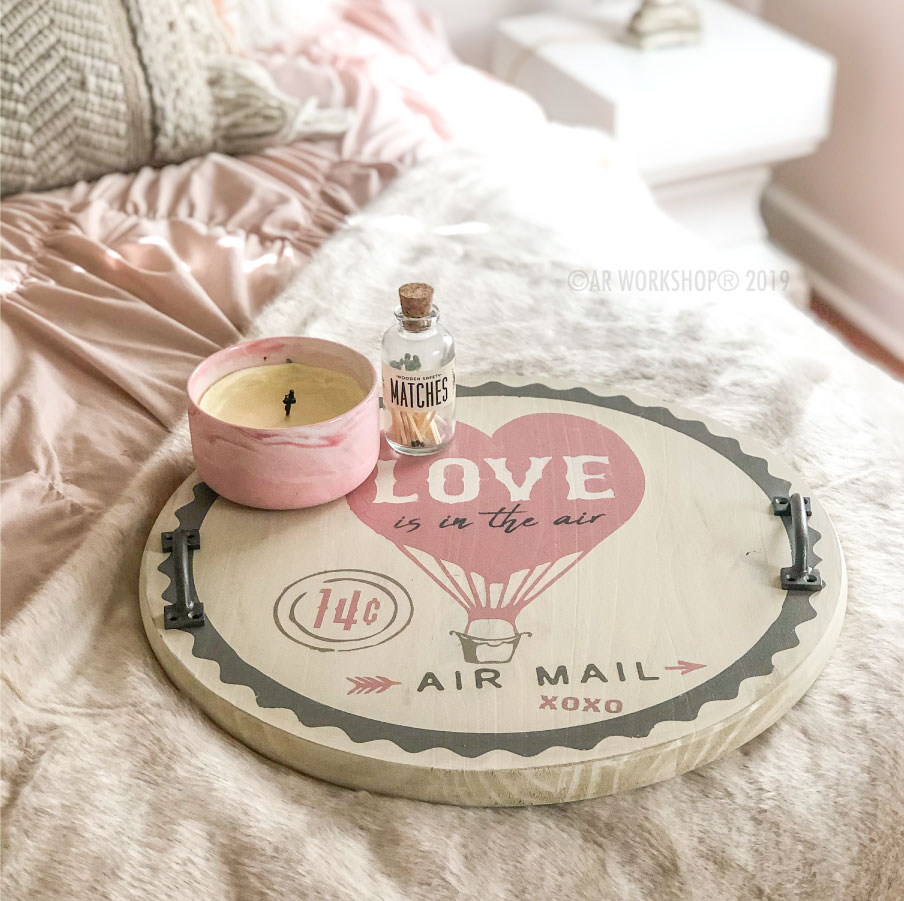 Love Balloon Tray