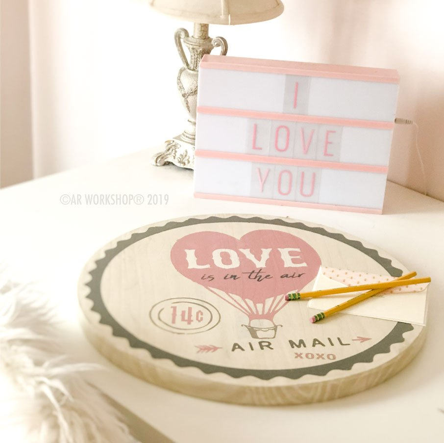 Love Balloon Lazy Susan