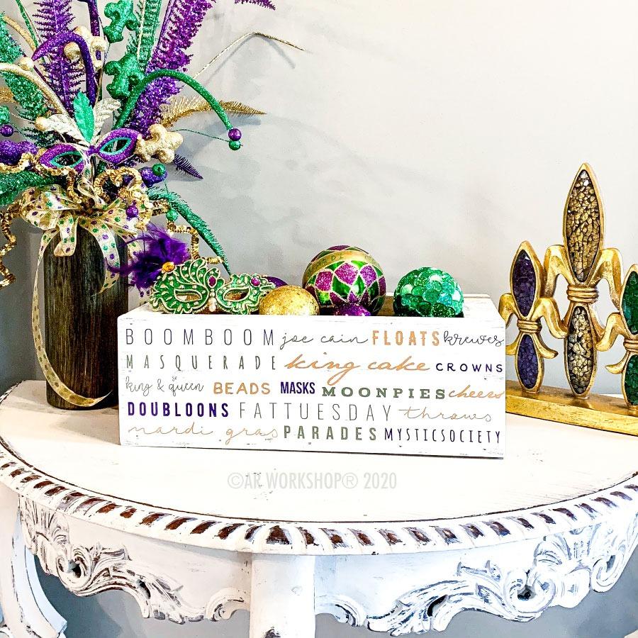 Mardi Gras Festive Box