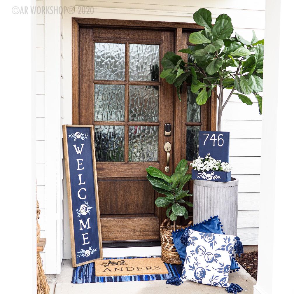Boho Peony Porch