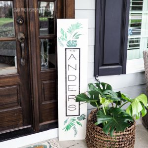 Palm Porch Sign