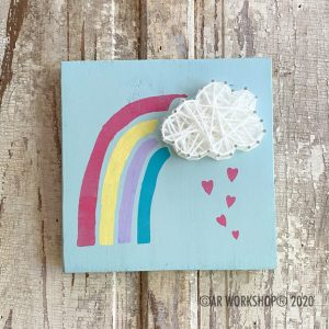 10x10 Paint & String Art Project - Summer Subscription Box