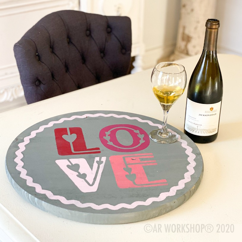 DIY Valentine's Day decor