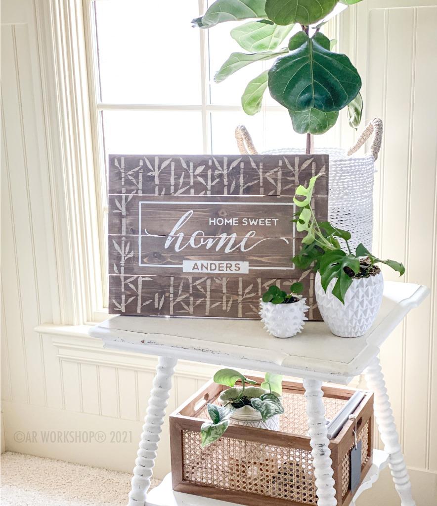 DIY spring decor